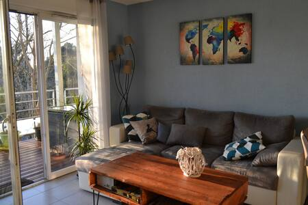 Chambre agréable avec parking privé - 巴约讷 - 公寓