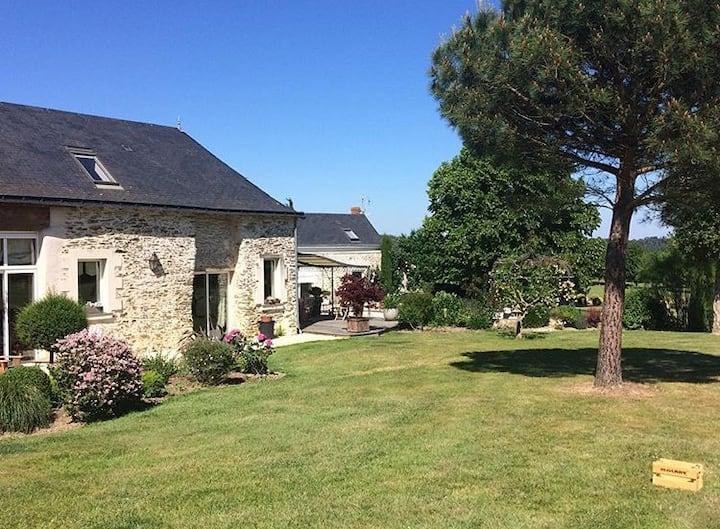 Magnifique propriété avec piscine en Anjou (49)