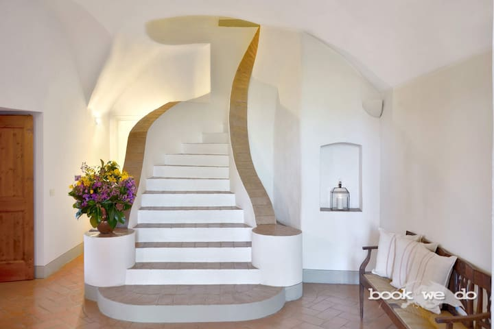 the sinuous stairs