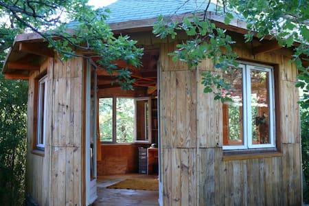 Chalet dans les bois, atelier d'artiste - Saignon - Chalet