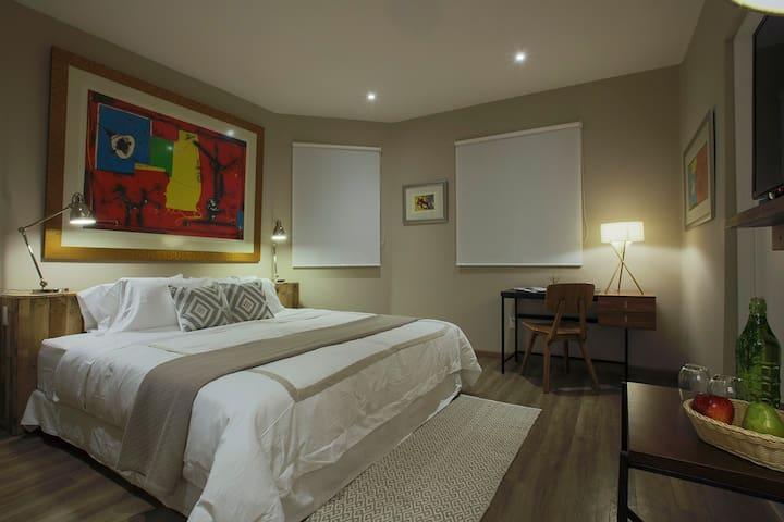 Fantástica habitación nueva en la Condesa.Rivera