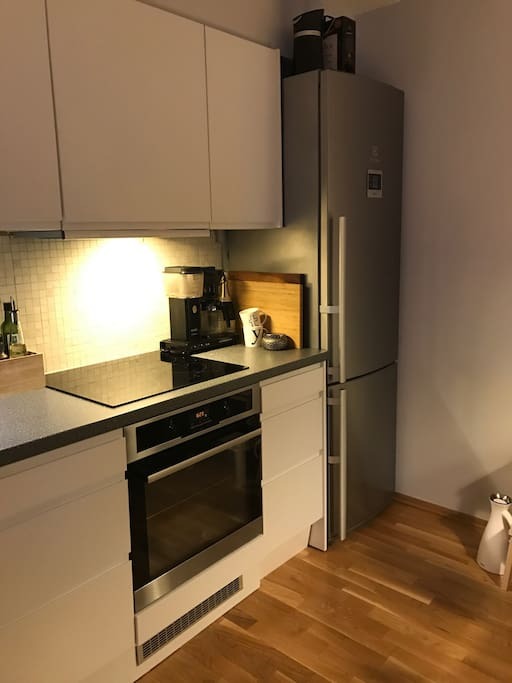 Kitchen. Cooktop and oven