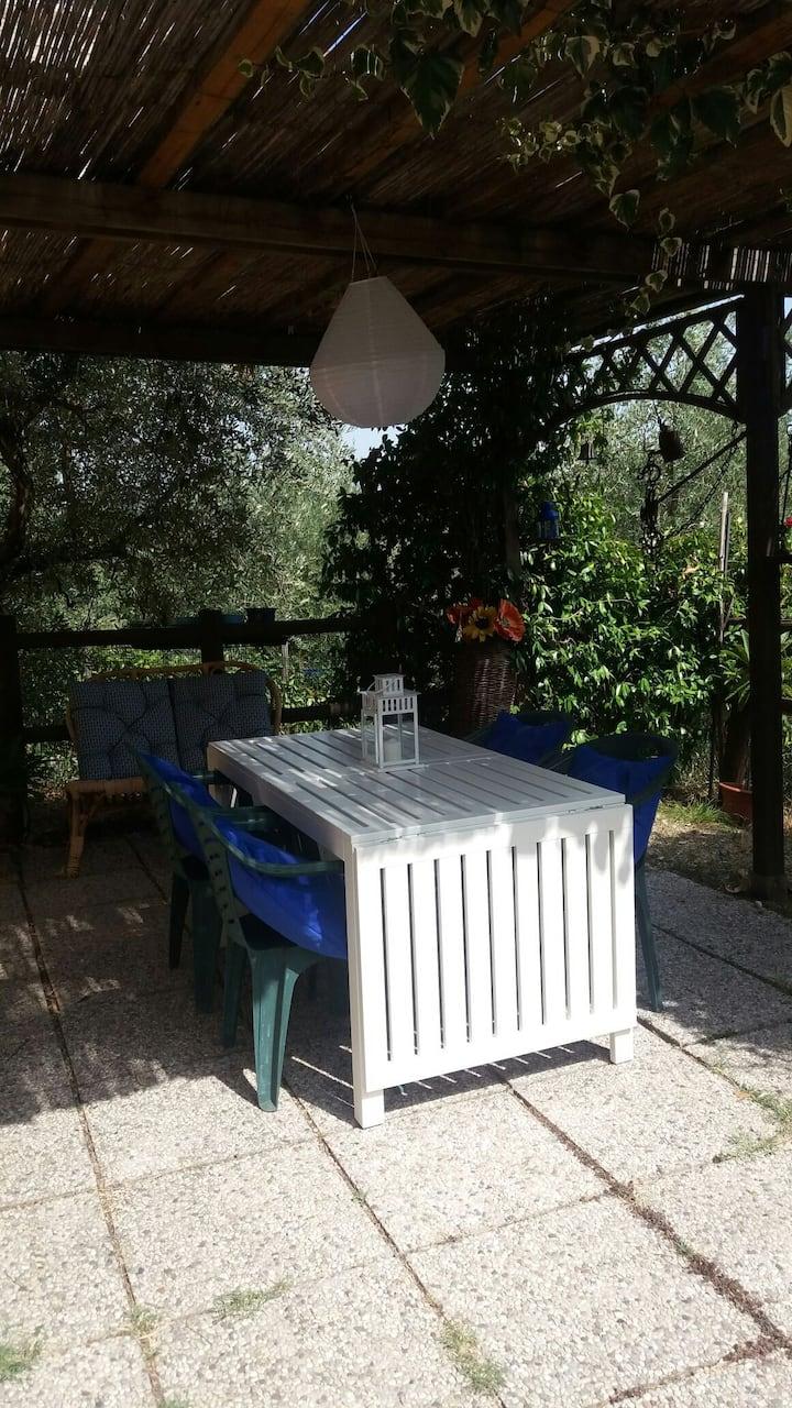 Casa colonica sulle colline di Firenze