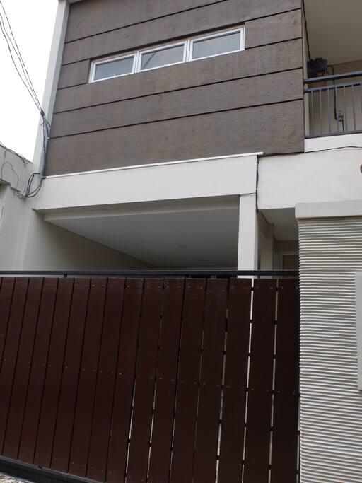 Newly built house