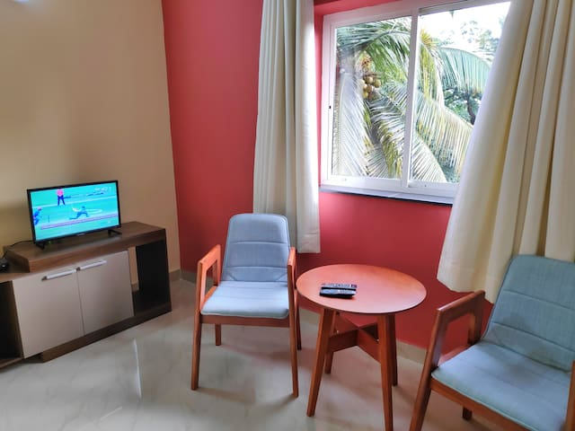 Cozy AC Studio Apartment in Panjim