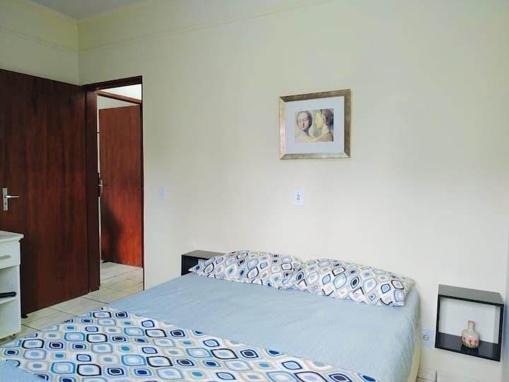 Suíte Azul no apartamento Pitanga