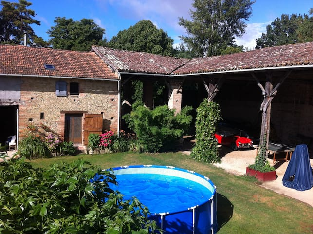 Micalon landelijke gite in Gascogne - Gaujac - Blockhütte