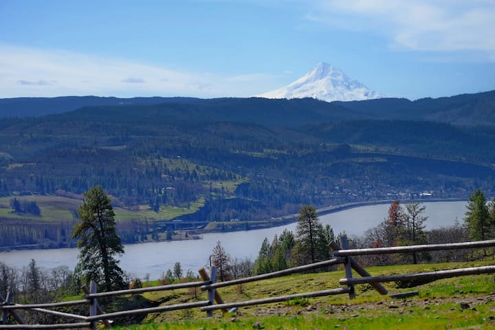 Downtown Bike & Ski Cave with Stellar Views - Hood River - Leilighet