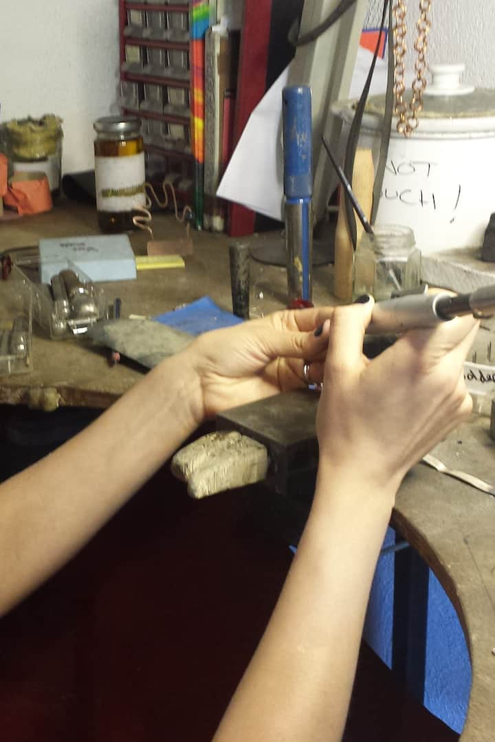Covering the basics of jewellery making