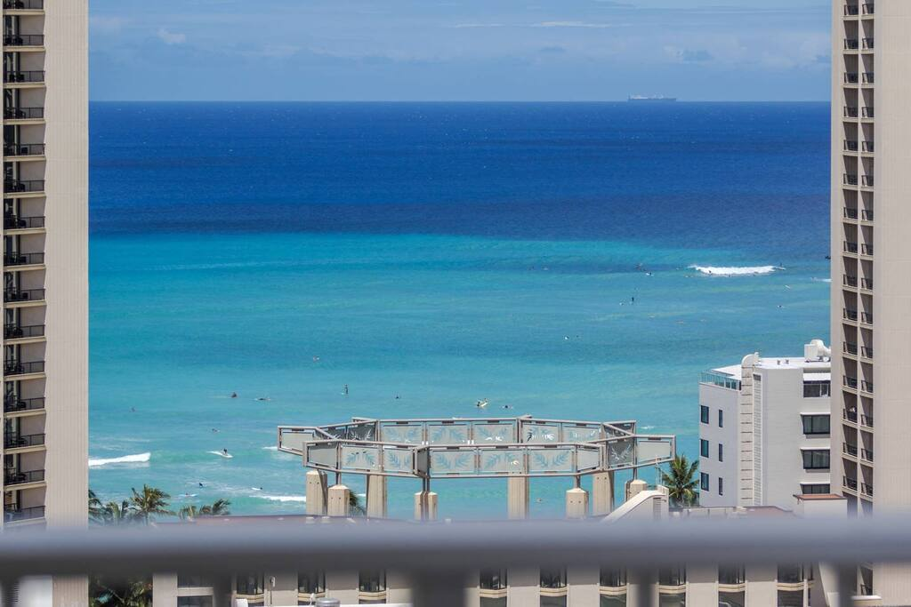 Watch Surfers from Open Lanai