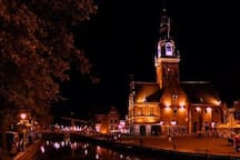 City of Alkmaar by night