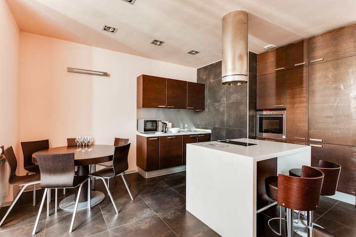 Business class apartment near Moscow City towers