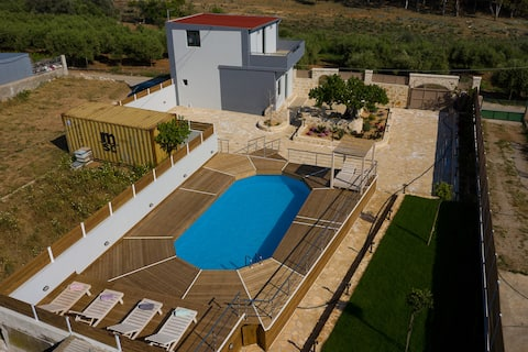 KALIMERA LEVENTOPEDA - POOL-BBQ-VIEW-PEACE & QUIET