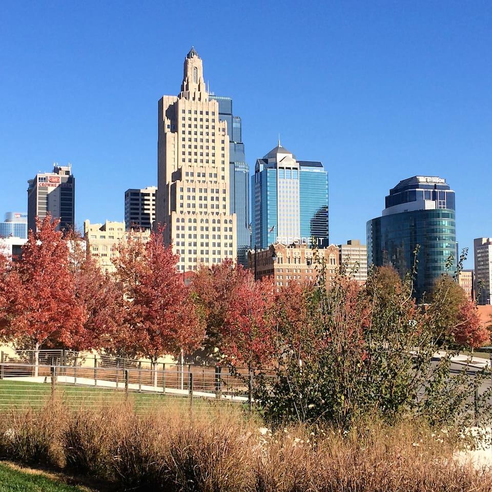Beautiful Kansas City skyline