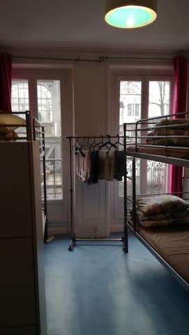 2-5.Cozy room in Gare du Nord-Xixi homestay - Paris - Schlafsaal