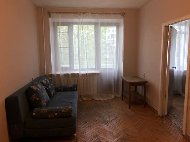 Large 2 bedroom APT, 7 mins to VDNH.