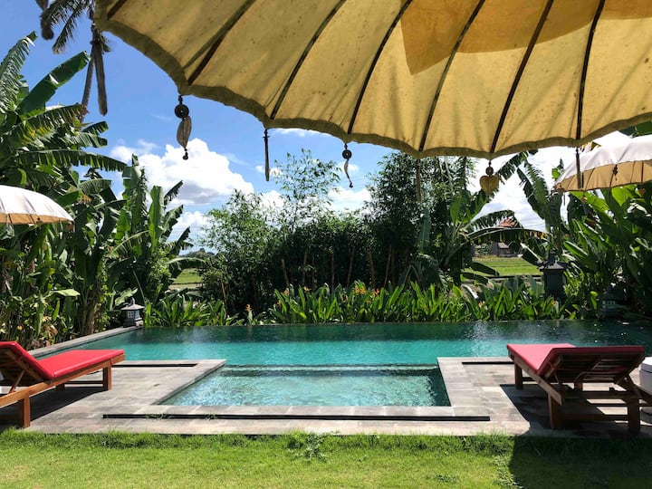Coucou Bali Apartment 1 with share-pool