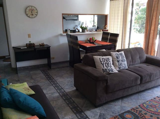 Great LOCATION close to LLERAS  2 mts walking