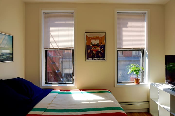 Sunny Room w/ Private Bath in Williamsburg!