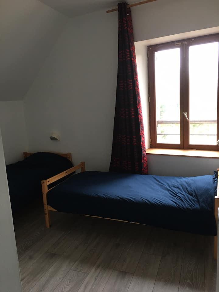 Chambre privée au Gîte du Petit Château (2)