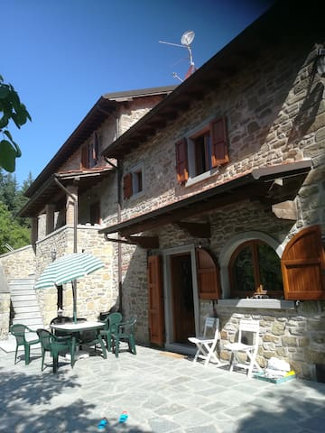 Villa in Tuscany, in the National Park of the Casentino Forests, near Camaldoli