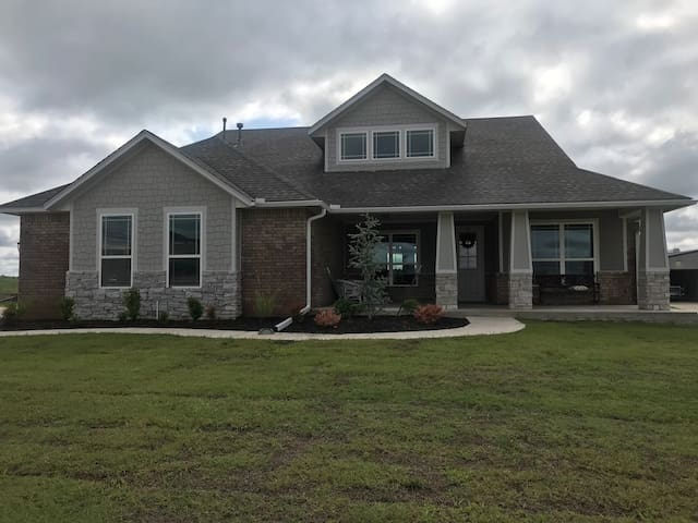 Brand new house in the country!
