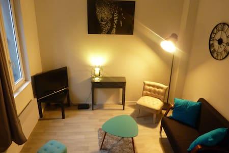 Studio cosy en centre ville de Rouen - Rouen - Lejlighed