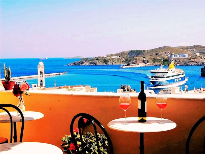 PEFKAKIA PARK Guesthouse Syros (Double room)