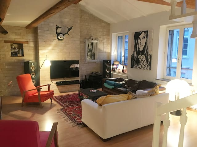 Chambre - 5 min Place Stanislas - Nancy - Appartement
