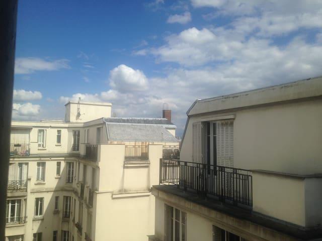 2 pièces entre Montmartre/les puces Saint-ouen