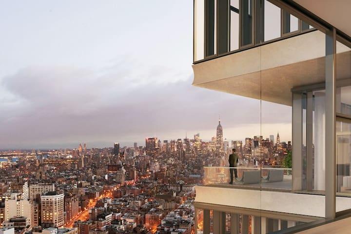 Huge Soho Ultra-Lux Celebrity apt + views/balcony - Нью-Йорк - Квартира