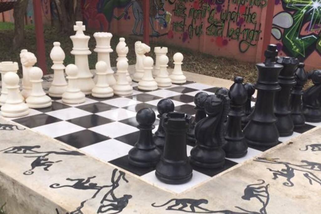 Fancy a game of chess at Tanuger?