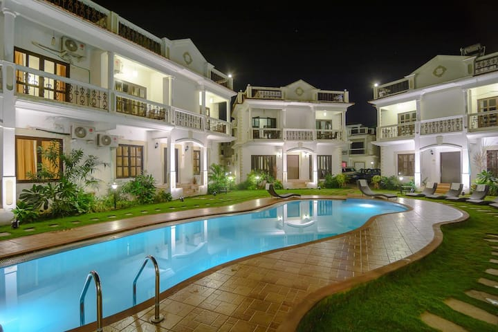 4Star Luxurious Villa/Resort near Baga- 6Bhk