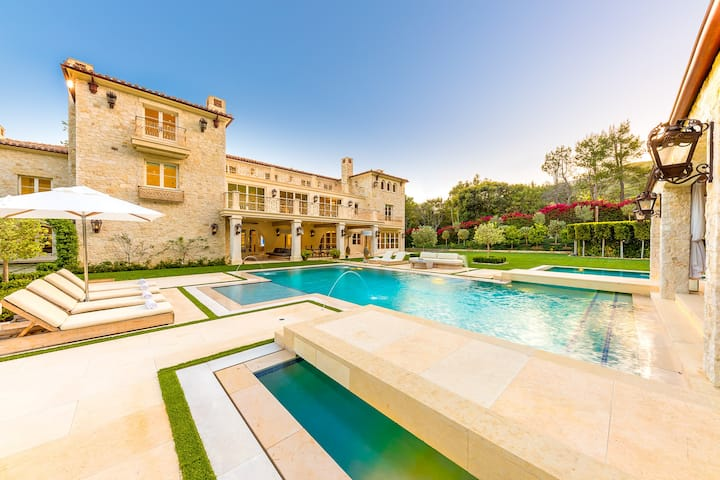 Petra Manor | Malibu Luxury Mansion