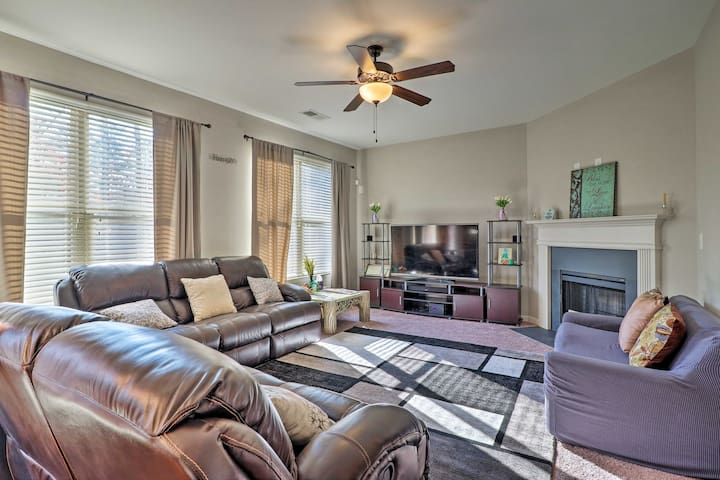 NEW! Suburban Family Home, Easy Drive to Downtown!