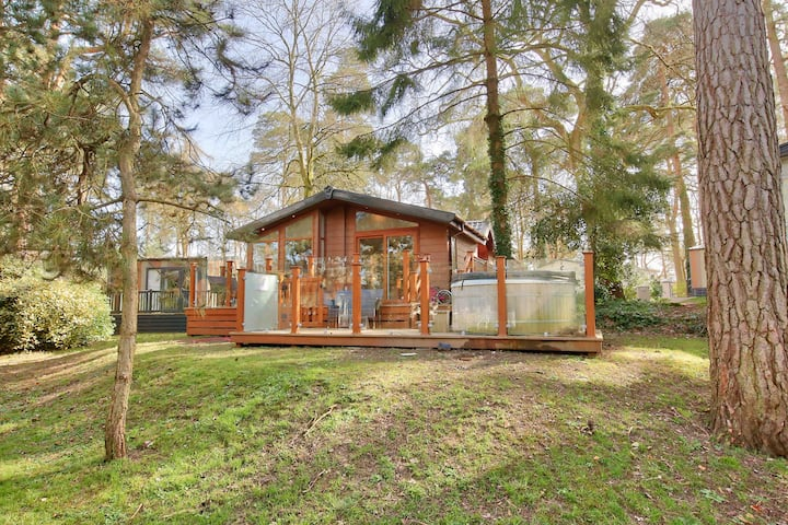 Private Lodge in the New Forest - Sandy Balls
