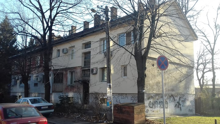 """2 room appartment in """"the"""" Boulevard"""