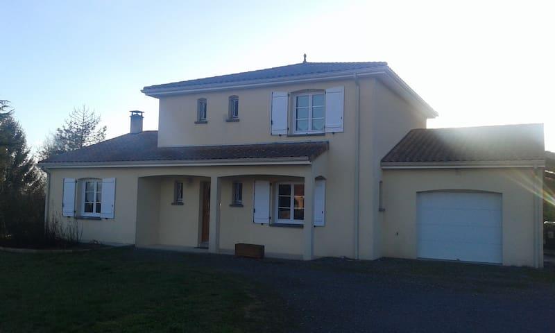 Chambres à proximité du Futuroscope, L 'habit D'OR - Marigny-Brizay - Casa