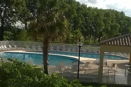 Maison 3p, jardin clos,  résid. sécurisée, piscine - Béziers