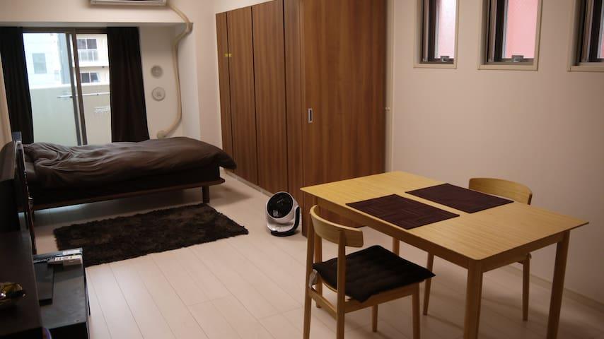 New apartment in Ueno Tokyo/上野駅近、築1年 - Taitō-ku - Apartamento
