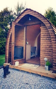 Wooden Pod at Coastal Valley Camp and Crafts - Cornwall