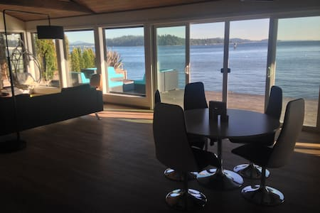 Mod Waterfront Retreat - An all new level of ahhhh - Vashon