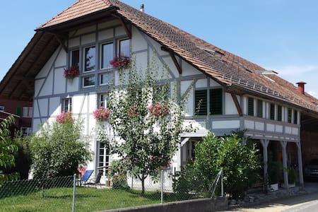 Gemütliches Zimmer in umgebautem Bauernhaus - Wangenried