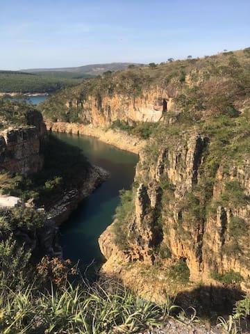 Mirante dos Canyons a 15 minutos da casinha