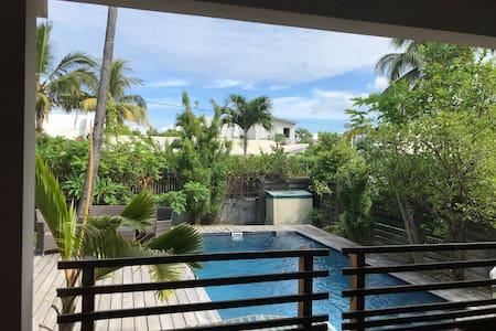 Villa Terra avec piscine à 50m du Lagon