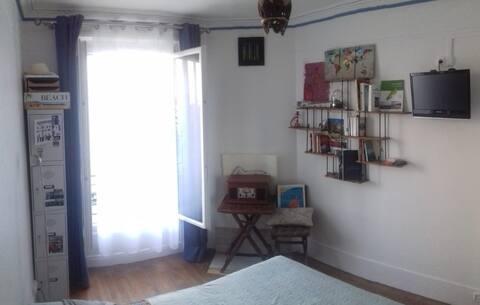 Appartement cosy à deux pas du canal de l'Ourcq