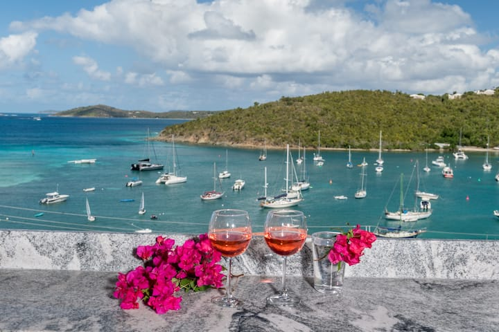 New! Island Therapy Studio - amazing views-St John
