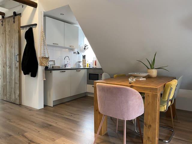 Aweg studio familiefriendly and cosy near Vismarkt