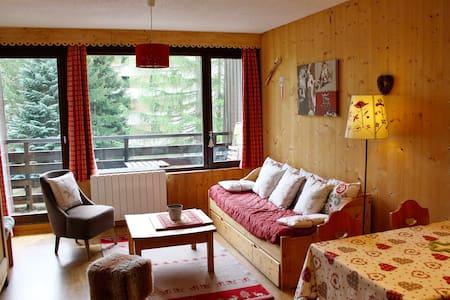 Studio coeur station,calme expo Sud - 蒙德朗 (Mont-de-Lans) - 公寓