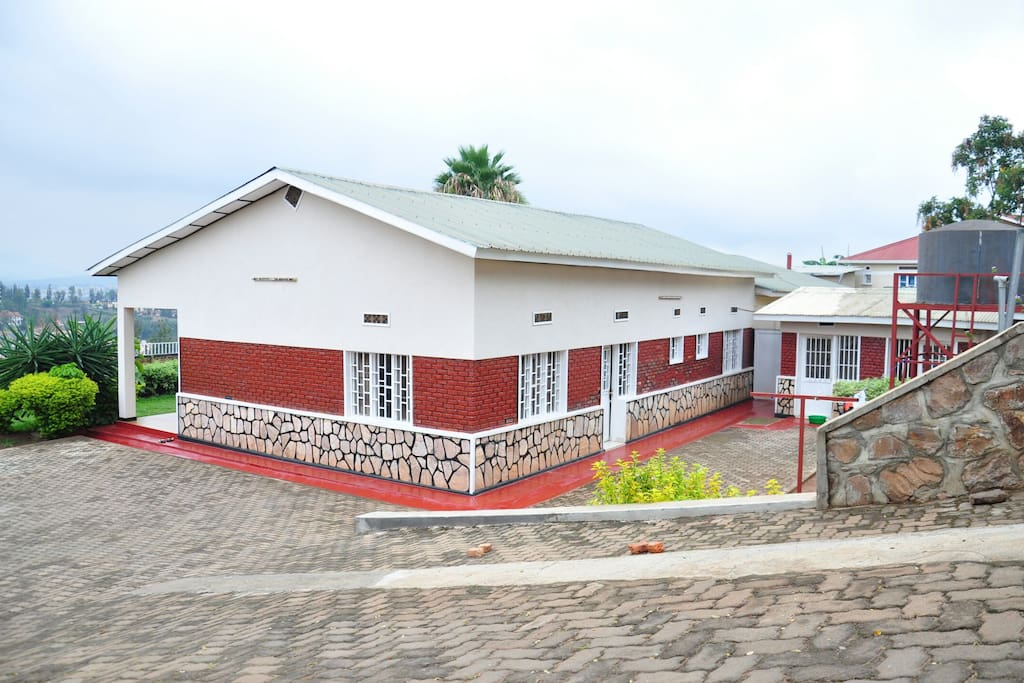 spacious compound with a great view of the city